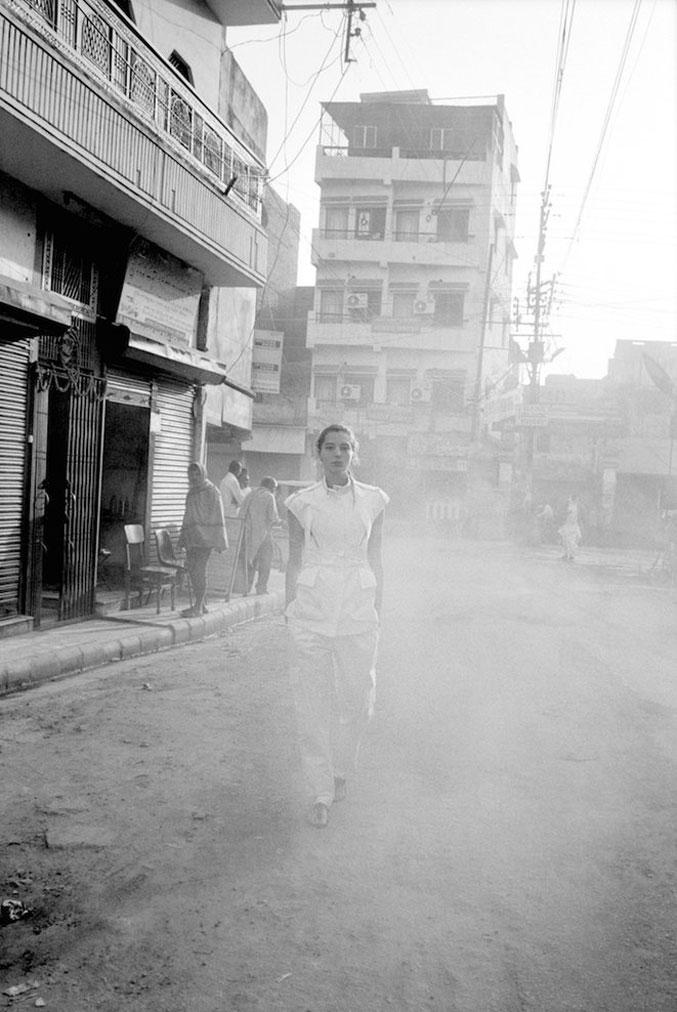 Daria Werbowy / Дарья Вербовы в Индии в рекламе модного бренда Maiyet, весна-лето 2013 / фотограф Cass Bird