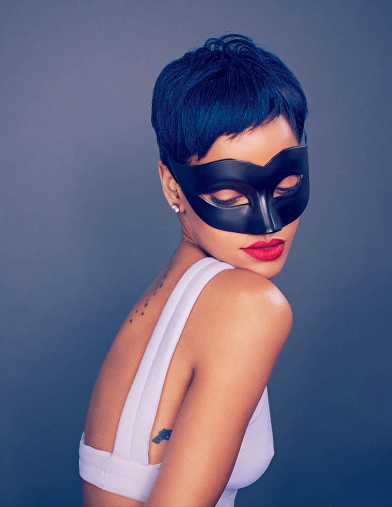 модель Рианна / Rihanna, фотограф Mariano Vivanco