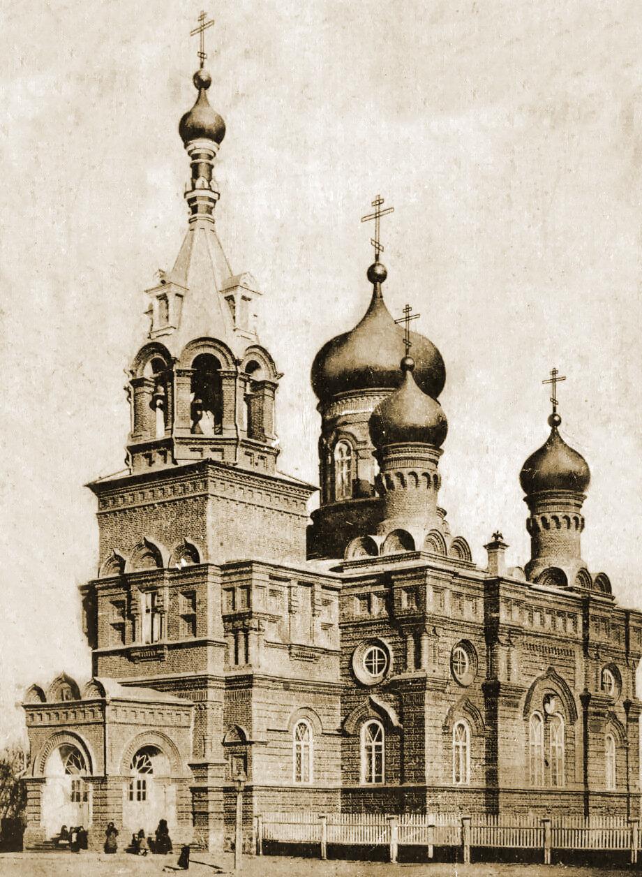 Вознесенская церковь (1896 г.). Снесена в 30-е годы