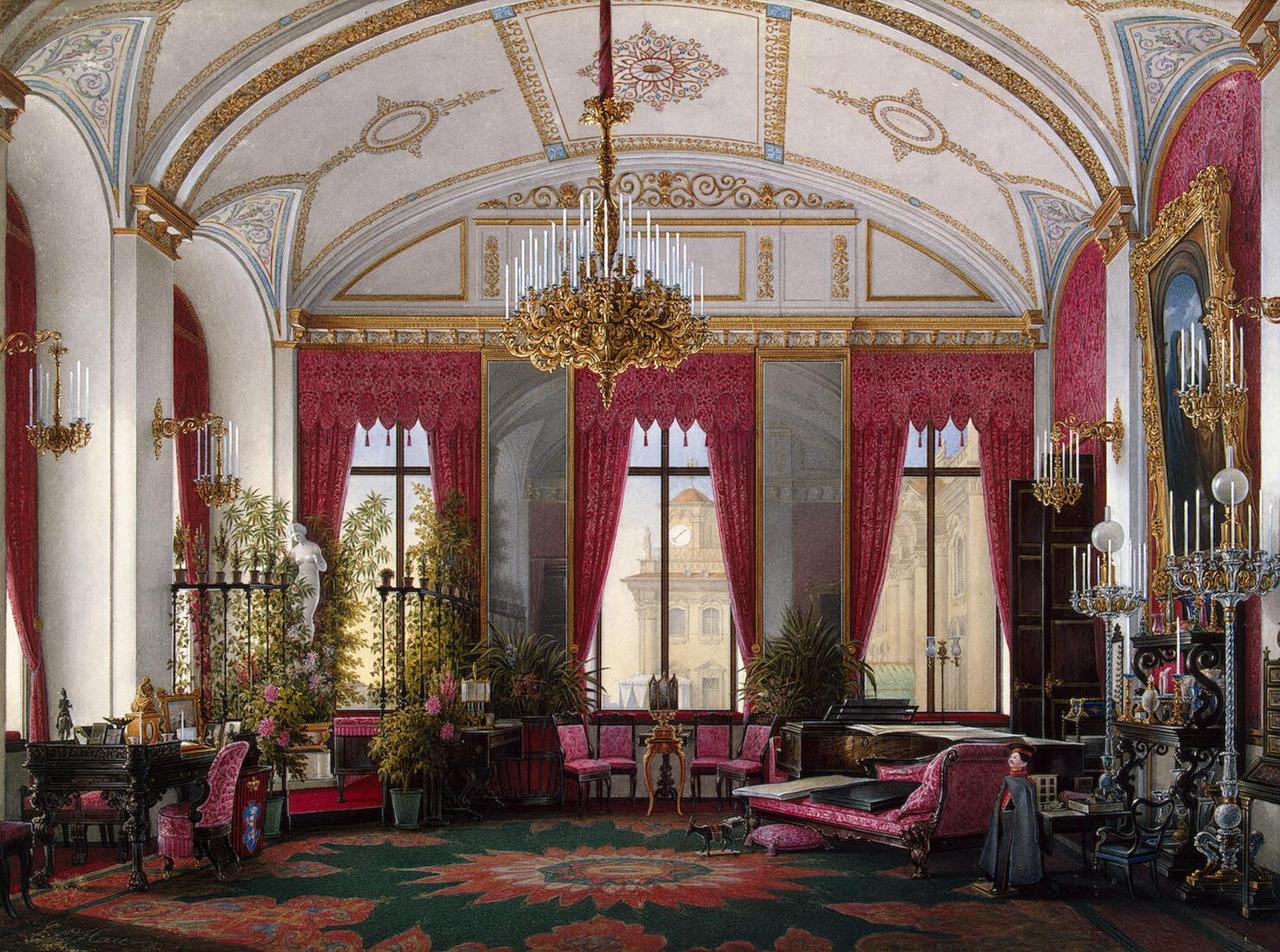 Малиновый кабинет императрицы Марии Александровны