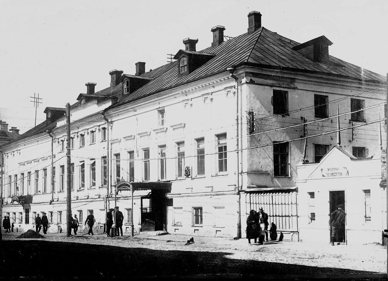 Аптека Эвениуса на Варварке.