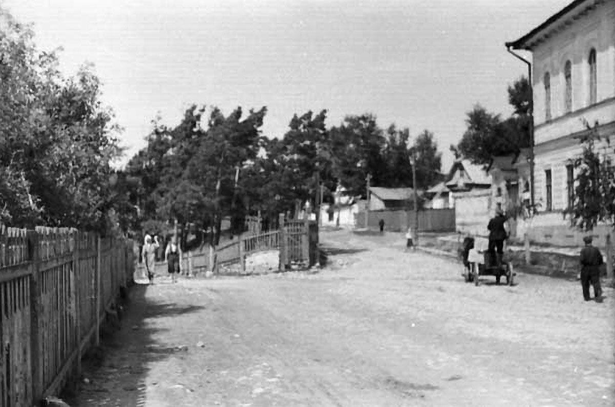 Улица Набережная.