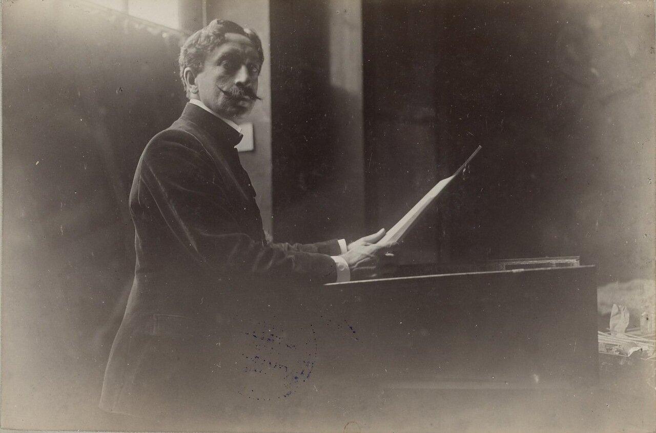 Антонио де ла Гандара (186-1917).
