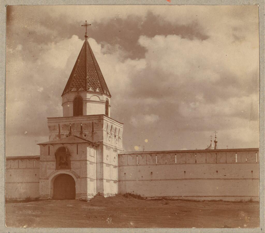 Зеленые врата. Ипатьевский монастырь. Кострома. 1910.