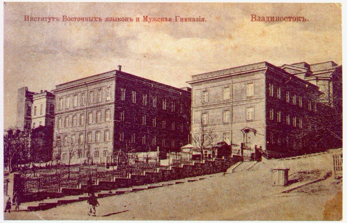 Институт Восточных языков и Мужская гимназия