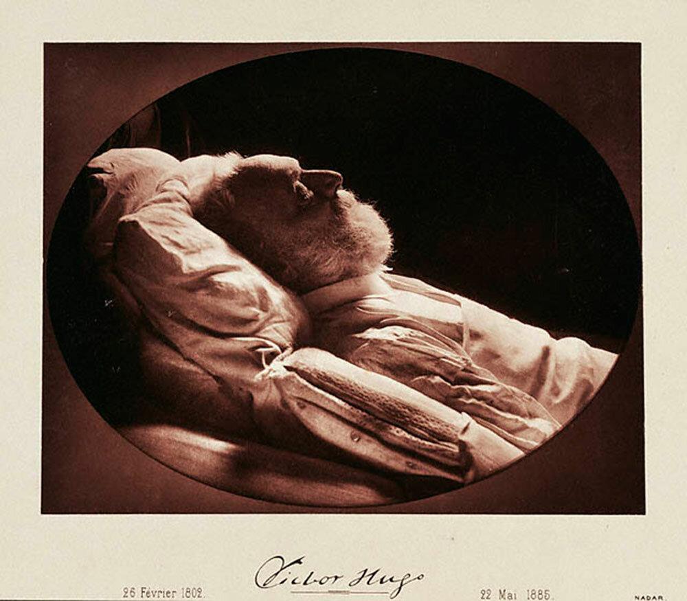 Виктор Гюго на смертном одре