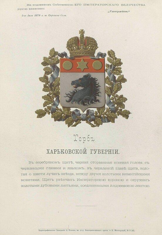 Харьковская губерния 1880 год