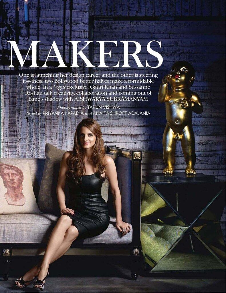 Susanna - Vogue Magazine - april 2012