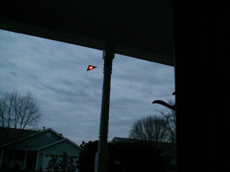 НЛО над Гриннвилл, Южная Каролина 16 марта 2010, 20:03
