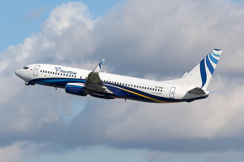 Boeing 737-8K5 (VQ-BDW) NordStar DSC6903