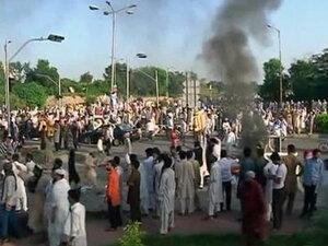 В Пакистане заживо сожгли туриста за богохульство