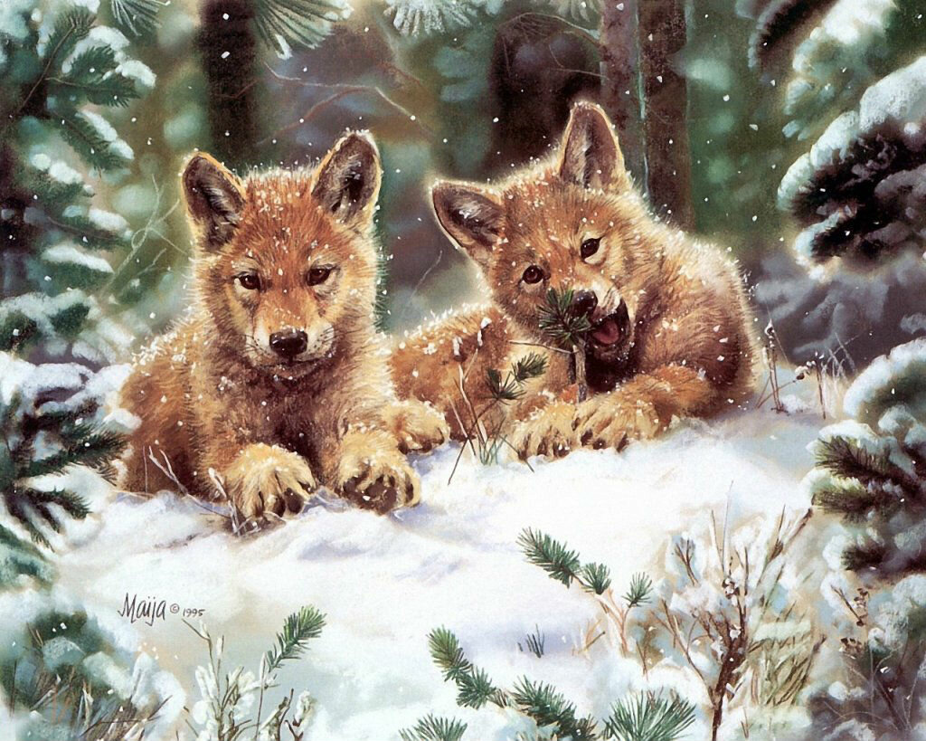 Картинки природа и животные анимация