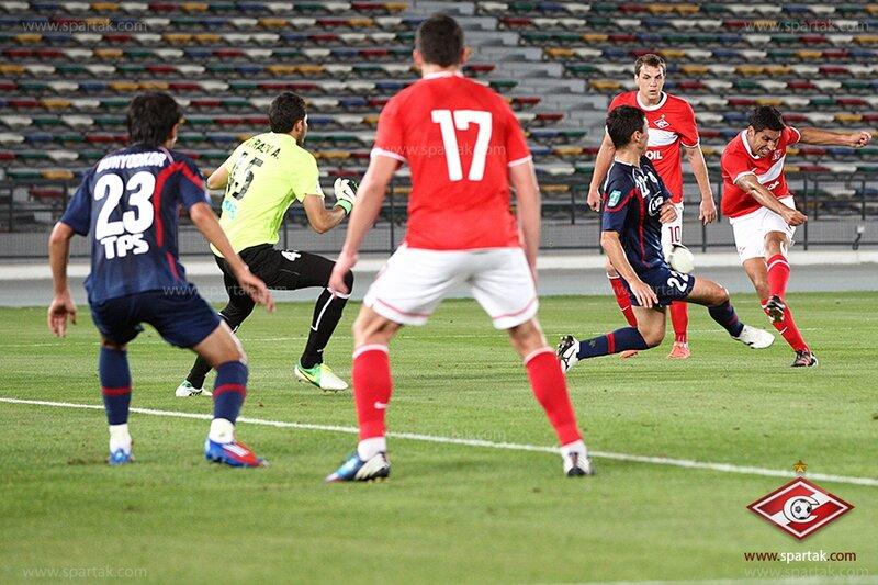 «Спартак» vs «Бунедкор» 2:1 контрольный матч 2013 (Фото)