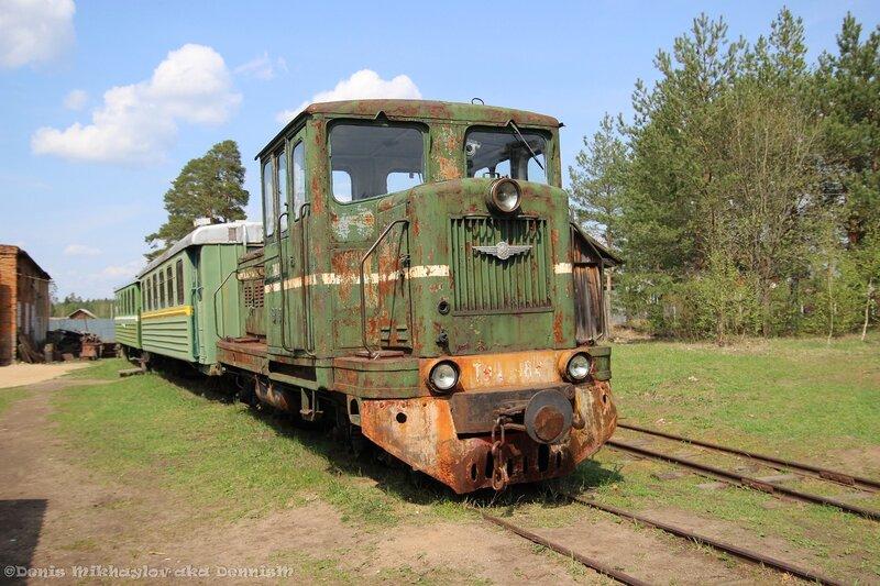 Тепловоз ТУ4-1984, Переславский железнодорожный музей.