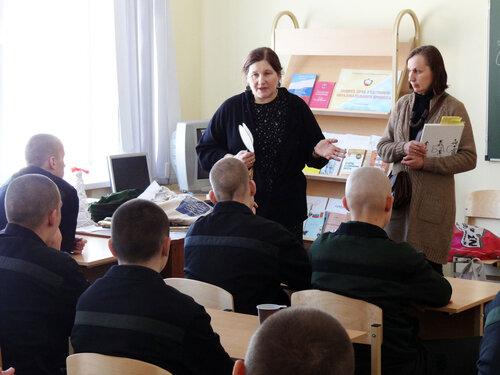 волонтёры Даниловцы в Можайской воспитательной колонии