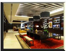 ОАЭ. Дубаи. Raffles Dubai. Library