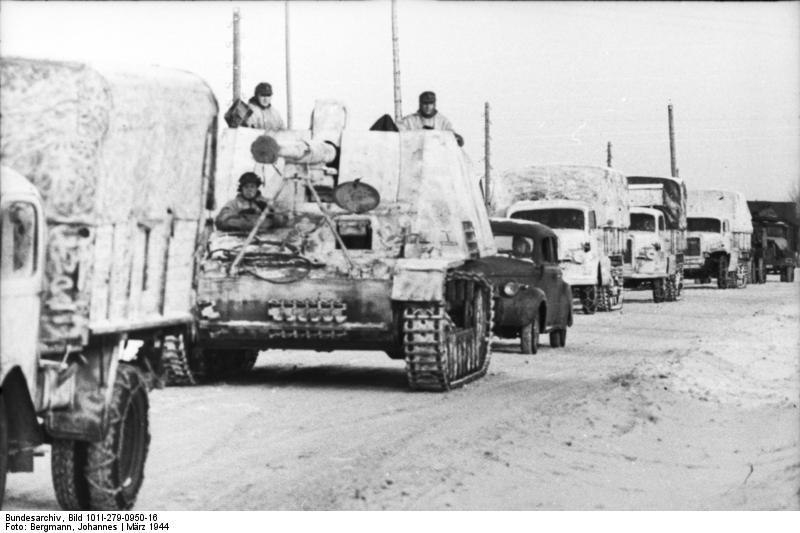 Russland, Jagdpanzer Nashorn/Hornisse