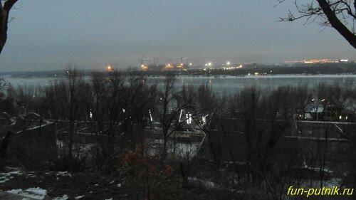 Парамоновские склады в Ростове-на-Дону, зимняя прогулка