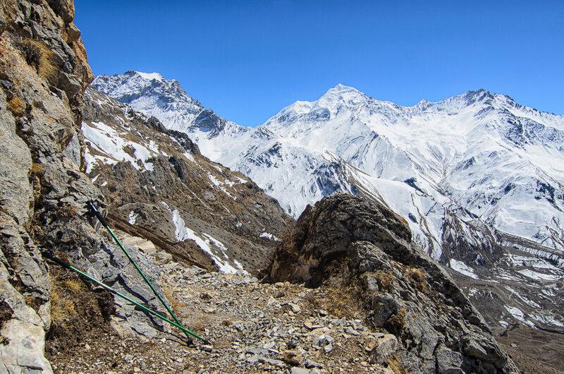треккинговые палки, гималаи, непал