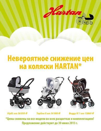 Детские коляски Hartan (Хартан)
