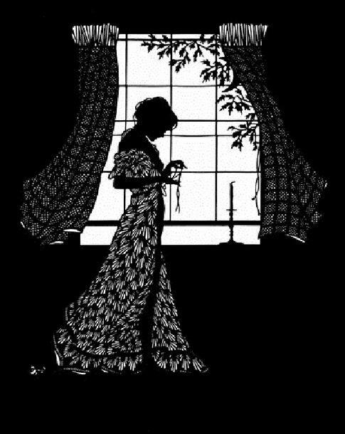 Силуэты. Beth-White