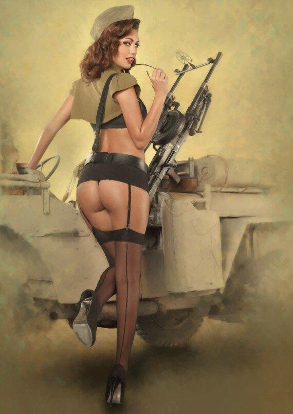 Униформа секс военная
