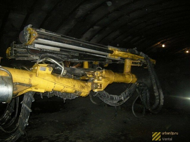 Техника для строительства метро (09.04.2013)