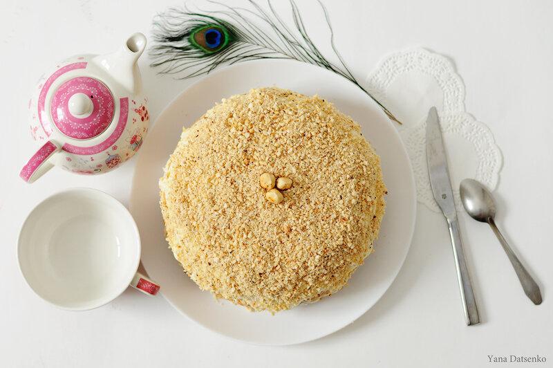 торт на бисквитных коржах