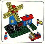 Ветряная мельница Lego