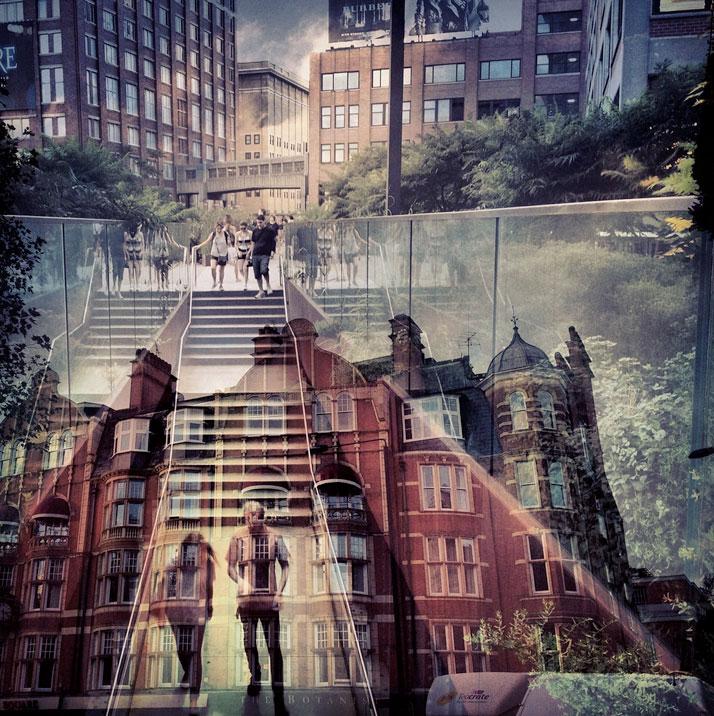 Dab50niella Zalcman. Нью-Йорк+Лондон. Архтектурно-Instagram-ные миражи