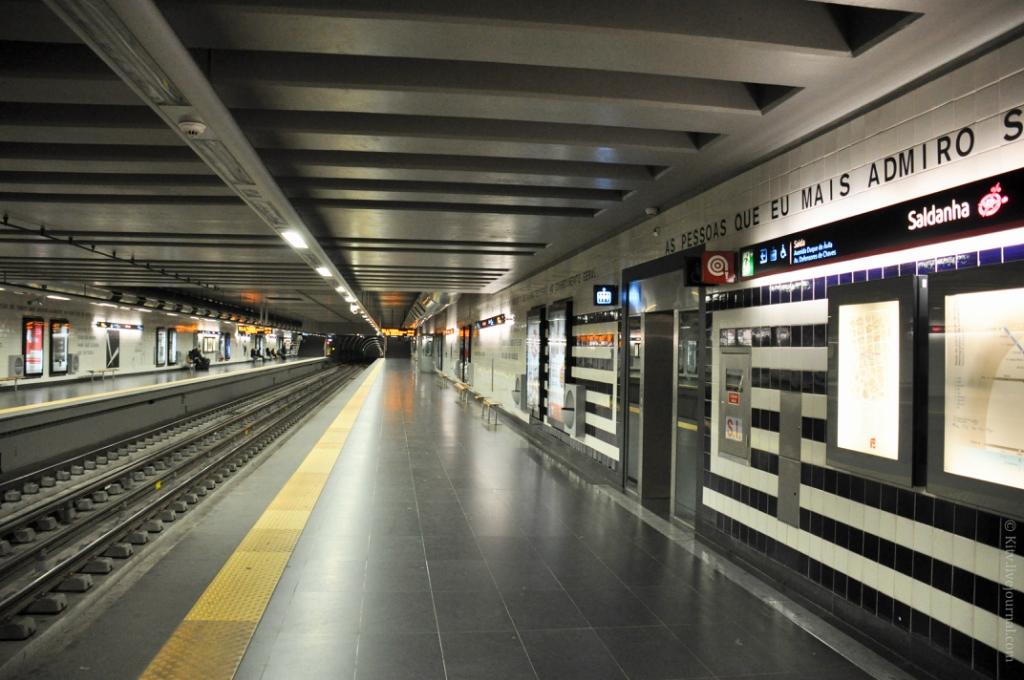 линия лиссабонского метро,