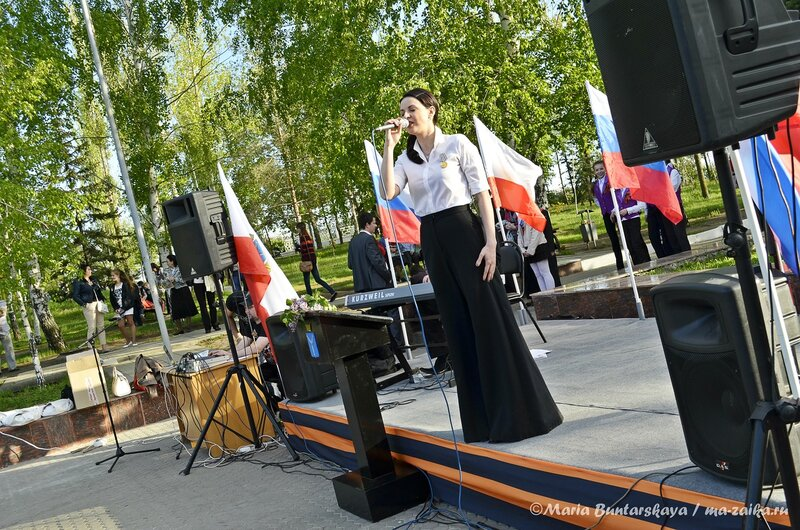 Благотворительный концерт Натальи Власовой, Саратов, парк Победы, 08 мая 2013 года