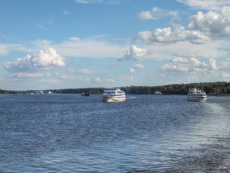 Россия реки/озера   ландшафты Икшинское водохранилище