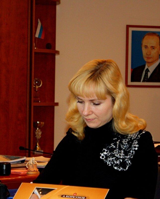 Пресс-секретарь Троицкой ГРЭС.