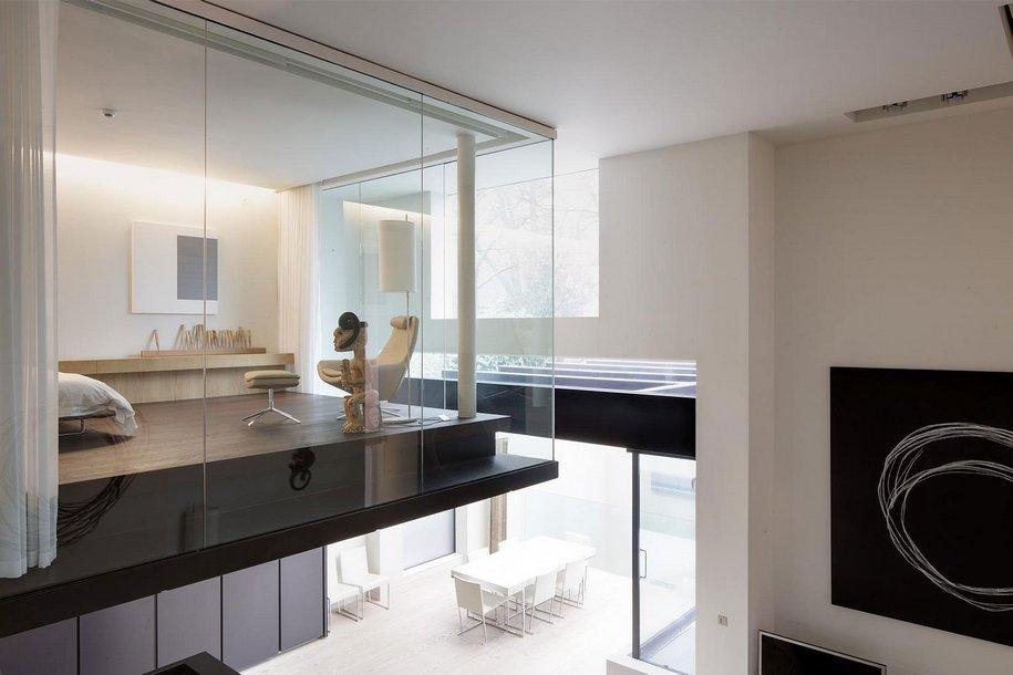 Современный Line House в Лондоне