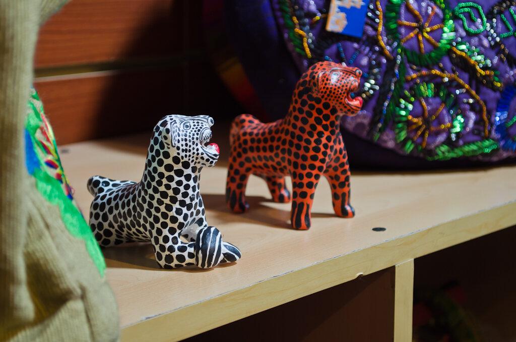 Леопарды в Мексике. Сувенирная лавка в San Cristóbal de las Casas. Отчет об экскурсии