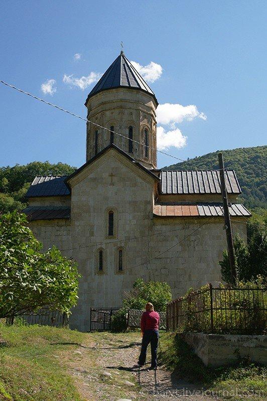 Церковь Баракони, северная сторона