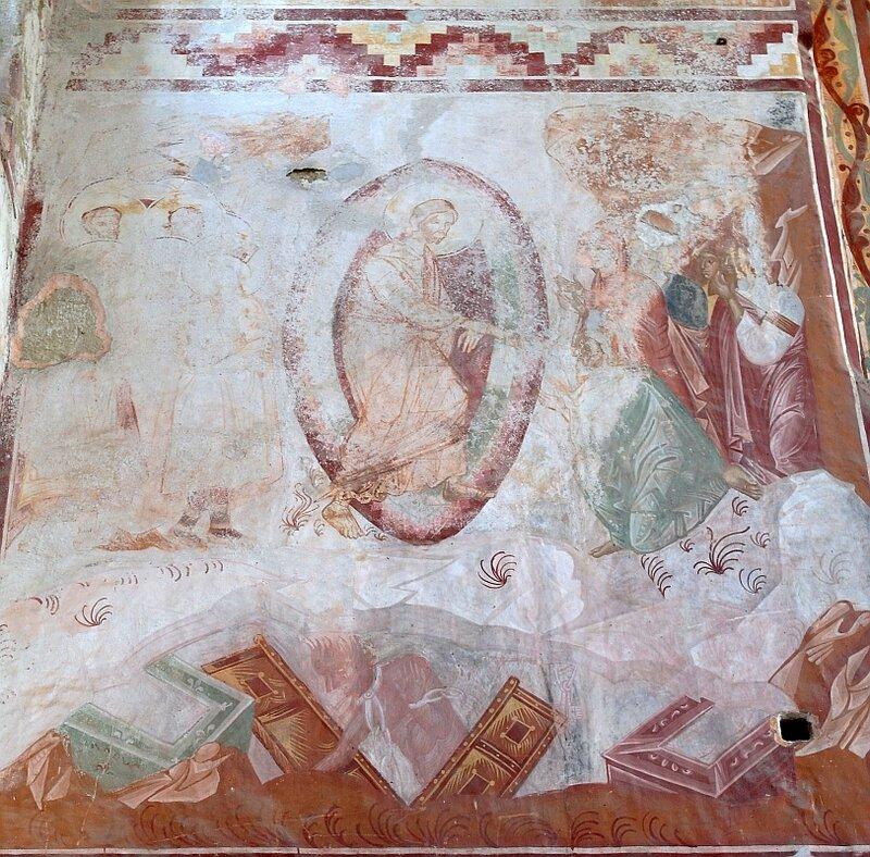 Воскресение Христово (Сошествие во ад). Фреска в Гелати