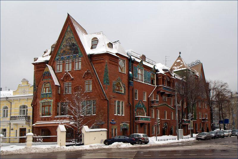 Дом Перцова в Москве.