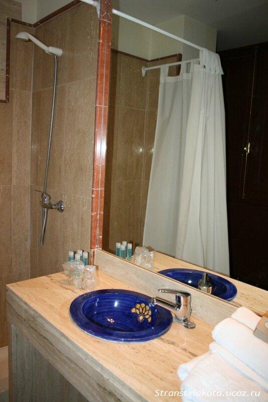 Гостиная в Suites Santa Cruz