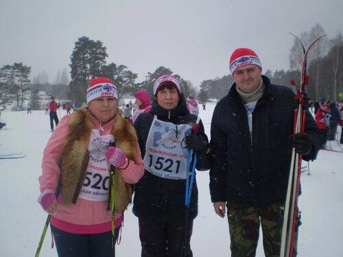 Лыжня России— 2013