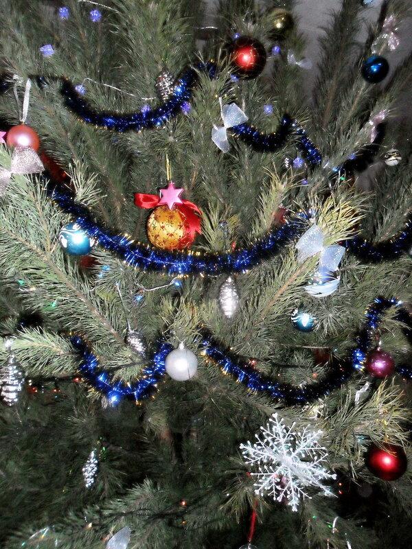 Новогодние мотивы, декабрь 2012