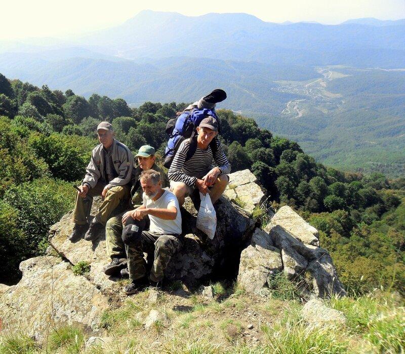 В горах, сентябрь