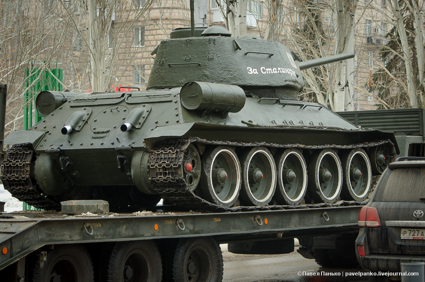 #Сталинград70 Волгоград Сталинград танк Т34 Т-34 Панько