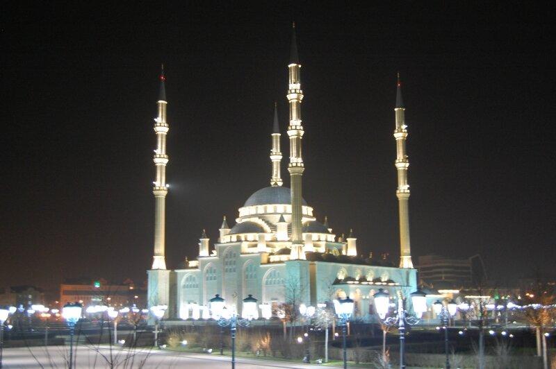 Чечня Грозный-сити мечеть