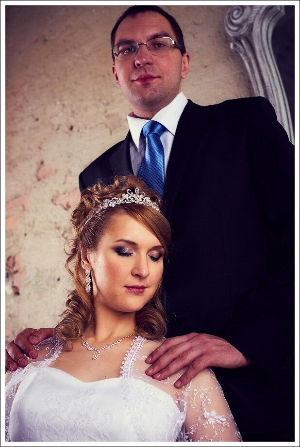 свадьба в интерьерной студии
