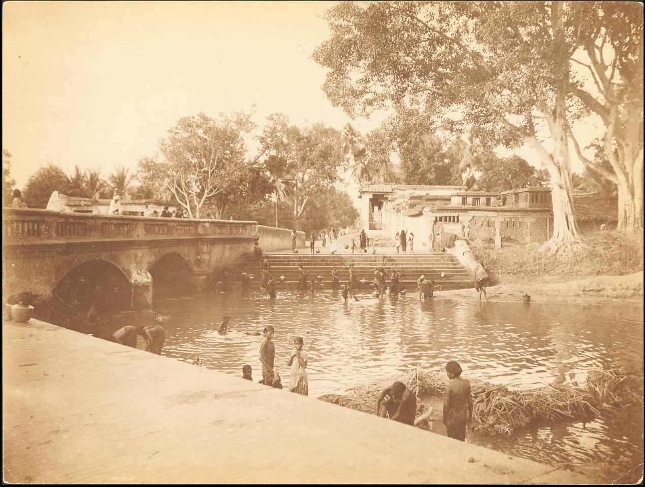 Купальня на реке Кавери