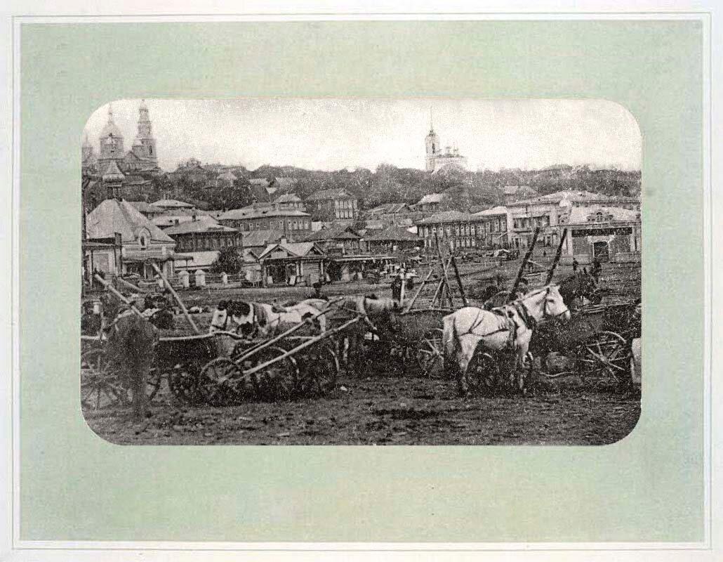 13. Вид Базарной площади