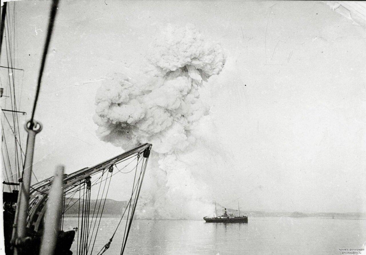 Взрыв канонерской лодки «Кореец» в Чемульпо