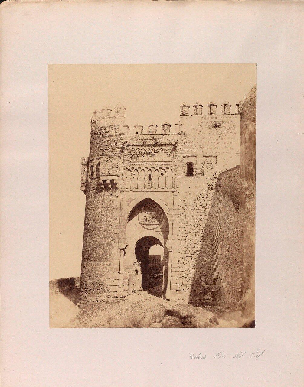 Ворота Пуэрта-дель-Соль. Толедо